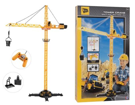 Rc Tower Crane Mainan Remote Crane jcb remote tower crane amazing gift rc child childrens ebay