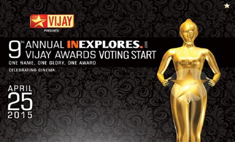 9th Annual Awards by 9th Annual Vijay Awards 2015 Complete Winners List