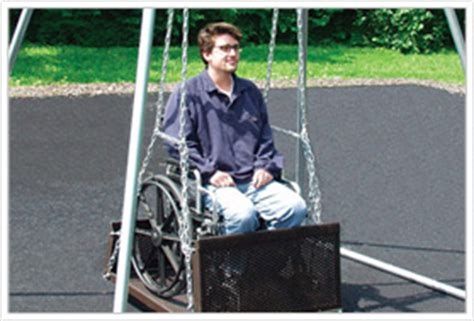 swings for adults with disabilities sportsplay we put the value in play