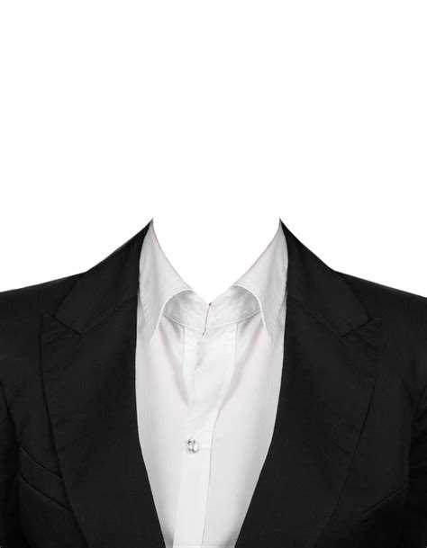 formal attire template suit png images free