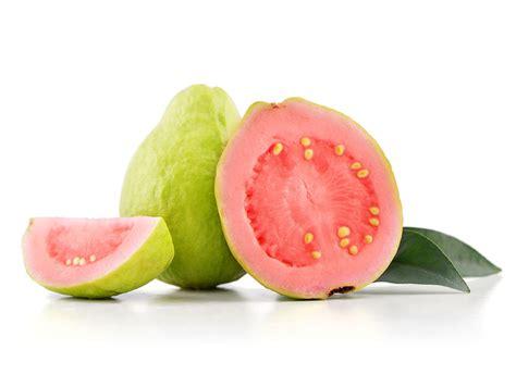 guava color barth fruit guava pink white