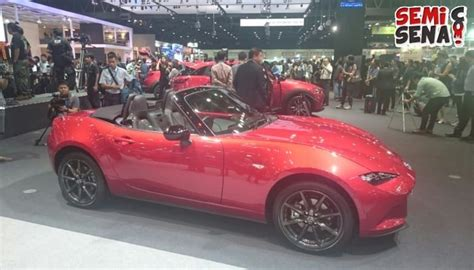 Hp Zu Mx5 Di Indonesia all new mazda mx 5 ramaikan bims 2016 semisena