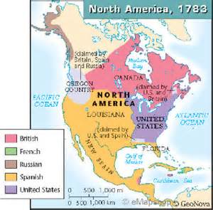 america in 1783