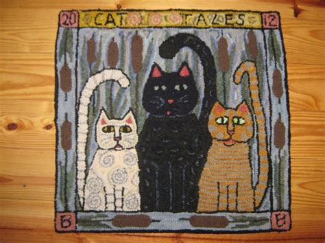 rug cat 257 best rug hooking cats images on rug hooking punch needle and rugs