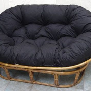 papasan loveseat papasan loveseat classic indoor rattan from home
