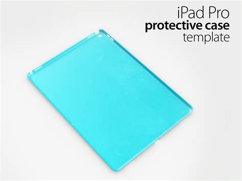 ipad pro case template 3d model obj 3ds stl ige igs