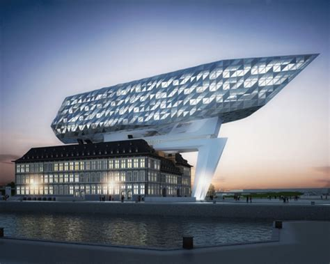 designboom zaha hadid japan antwerp port authority headquarters by zaha hadid architects