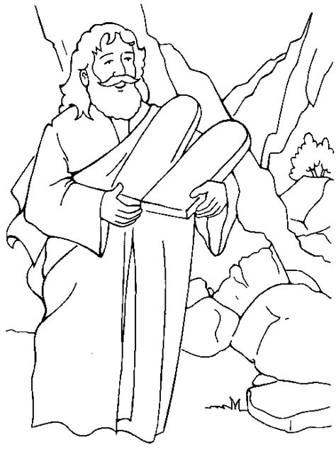 Ten Commandments Coloring Page Coloring Pages 10 Commandments