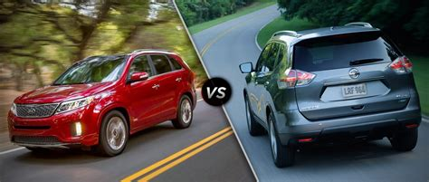 nissan rogue vs kia sorento nissan rogue 2014 vs 2015 autos post