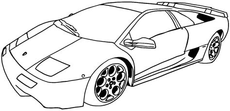 car coloring pages preschool coloring pages for boys cars police car coloring pages