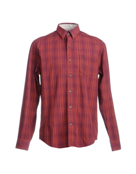 timberland sleeve shirt in for lyst