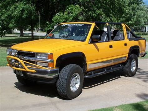 how to sell used cars 1993 chevrolet suburban 2500 on board diagnostic system sell used 1993 chevy suburban convertable 4x4 roadster in saint john kansas united states