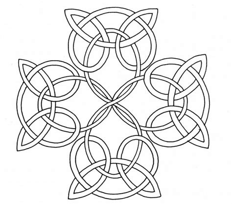 Celtic Design Coloring Pages Coloring Home Celtic Knot Coloring Pages