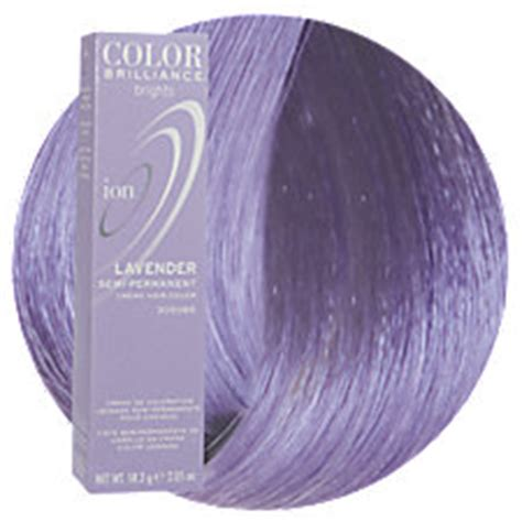 ion haircolor pucs hair color lavender hair