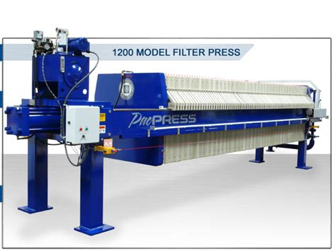 pacpress products filter press 1200