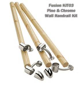 Handrail Kits For Stairs by Fusion Wall Handrail Kit Stair Banister Rail Kit