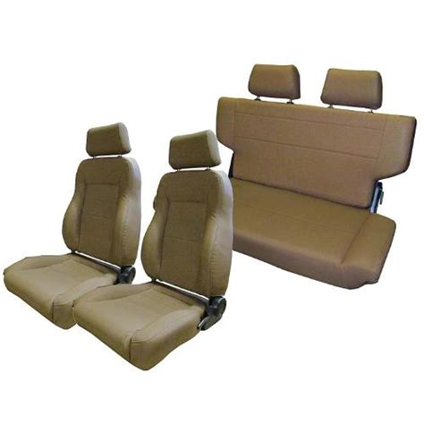 early bronco seats complete set of custom seats spice toms bronco parts