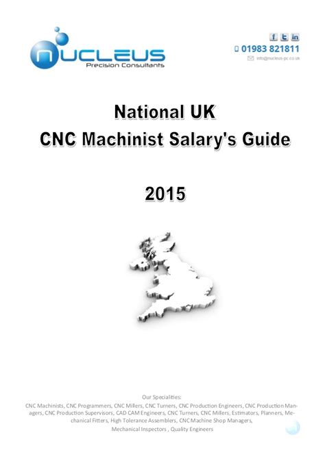 Cnc Salary by Cnc Salary Survey 2016