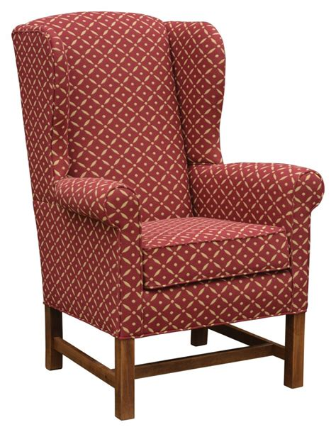 town and country upholstery laurel ridge wing chair colonial housecolonial house