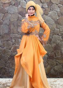 Maxi Okky Orange koleksi kebaya terbaru gebeet