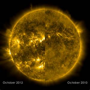 solar minimum solar maximum nasa