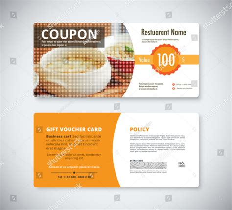promotion card template 29 restaurant promo card templates free premium templates