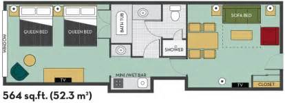 embassy suites floor plan 2 queen fallsview 2 room suite with breakfast floor plan