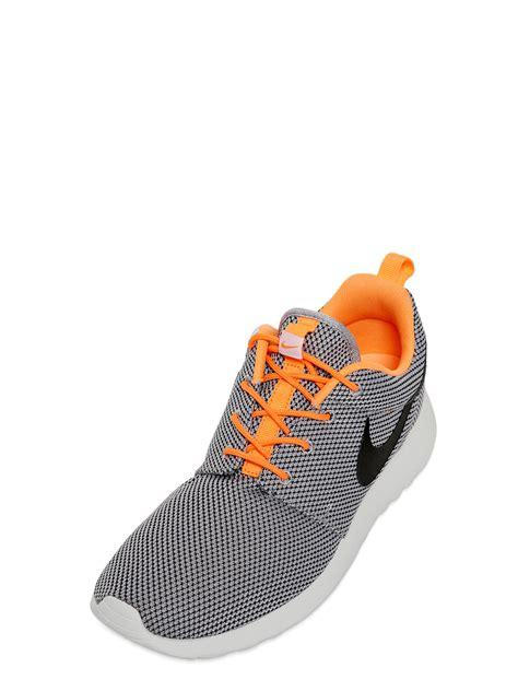 nike mesh sneakers nike roshe run mesh sneakers in gray for grey