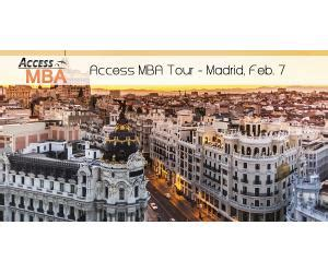 Access Mba Tour 2017 by Feria Access Mba 2017 En Madrid
