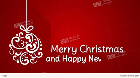 merry or happy merry and happy new year greeting 4k 4096x2304