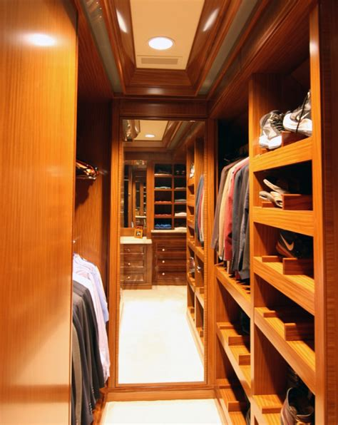 Wood Walk In Closet by 18 Small Walk In Closet Designs Ideas Design Trends