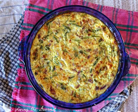 lightened up crustless cottage cheese quiche living