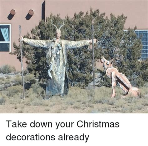 when do u take your christmas decorations down