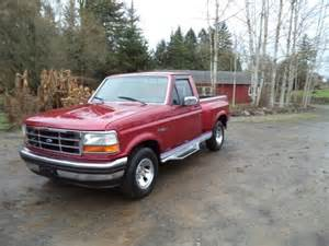 1993 Ford F150 Flareside 1993 Ford F150 Xlt Flareside Rust Free Owned