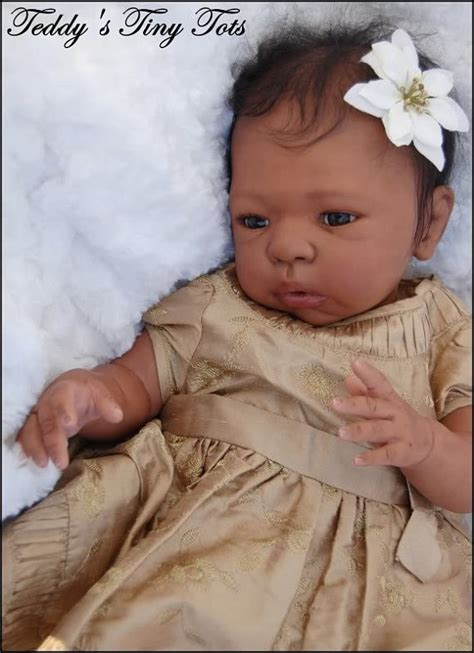 black doll kits reborning new aa american reborn doll by
