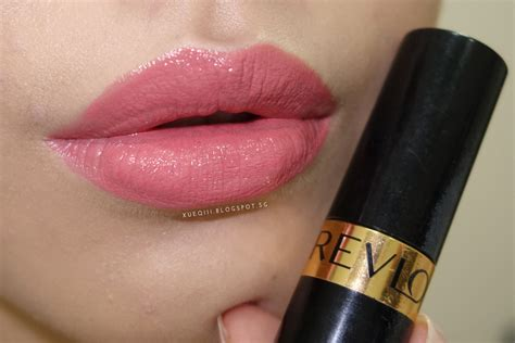 Lipstik Revlon Pink In The Afternoon revlon colorstay foundation lustrous lipstick