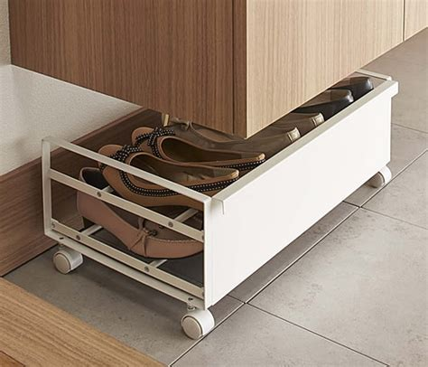 underbed storage for shoes store underbed shoe storage rack