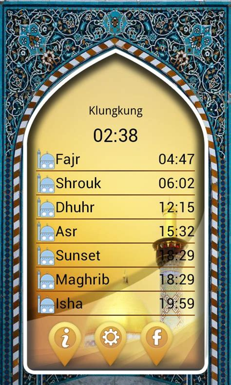 salat namaz timings appstore for android