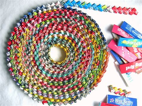 How To Make Paper Gum - gum wrapper chain retired ruth