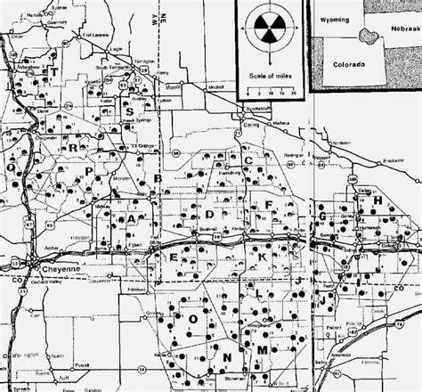 map us missile silos map of retired missouri missile silos swimnova