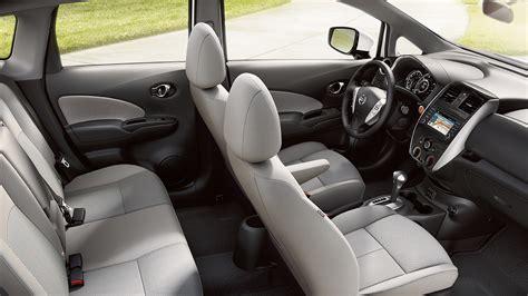 nissan versa 2017 interior 2017 nissan versa note hatchback features nissan canada