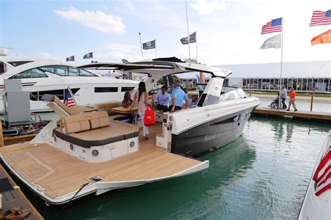 boat show boats hot new boats and gear at the 2017 miami international