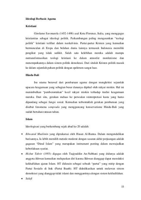 Liberalisasi Ideologi Negara Pancasila Kaelan Diskon Peran Ideologi Pancasila Dalam Mengatasi Perang Ideologi