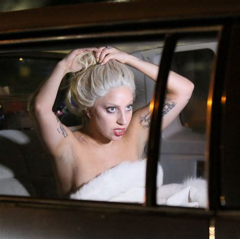 commercial lady gaga lady gaga filming shiseido commercial in new york city