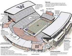 new improved husky stadium ready to shine the seattle times