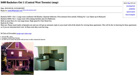 Apartment Websites Like Craigslist What 500 Or Less Gets You For An Apartment Rental On