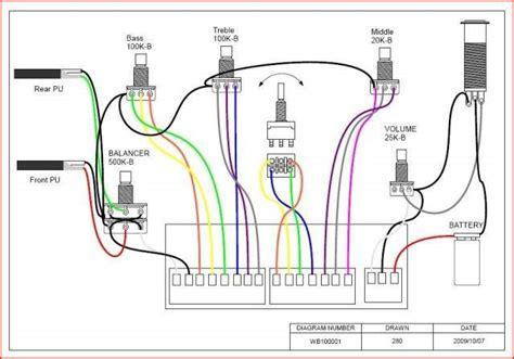 wiring passive talkbass
