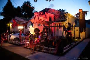Best Decorated Houses For Halloween Halloween Inside House Decorations Images