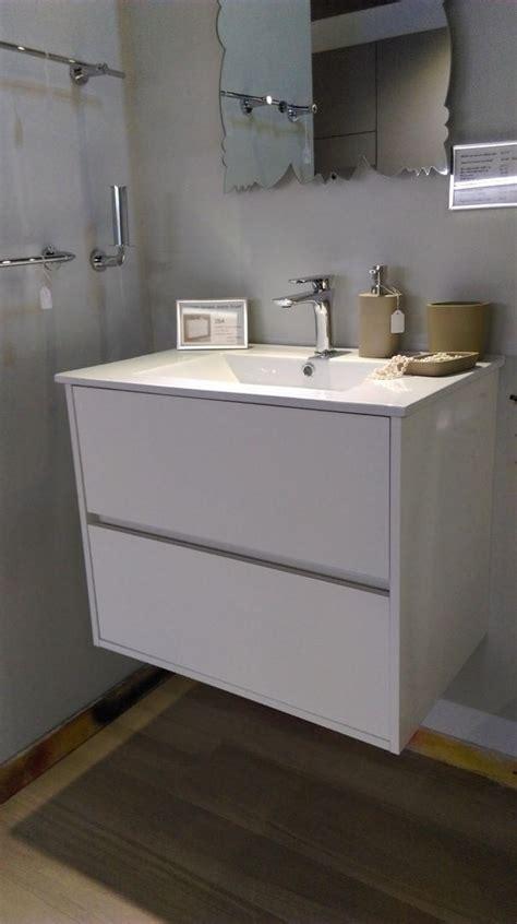mobile bagno sospeso prezzi mobile bagno sospeso con gola colore bianco lucido