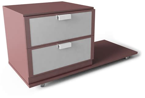 bed side table l cad and bim object hopen bedside table ikea